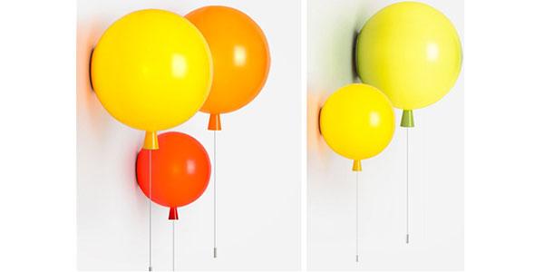 Applique a forma di palloncini per la cameretta dei bambini