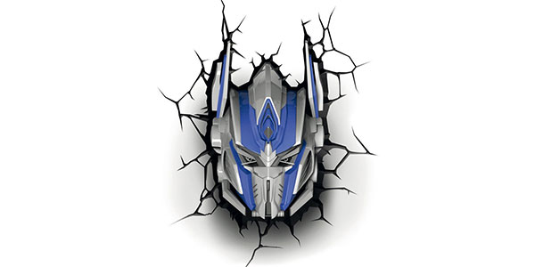 Applique di Optimus Prime dei Transformers per la cameretta dei bambini