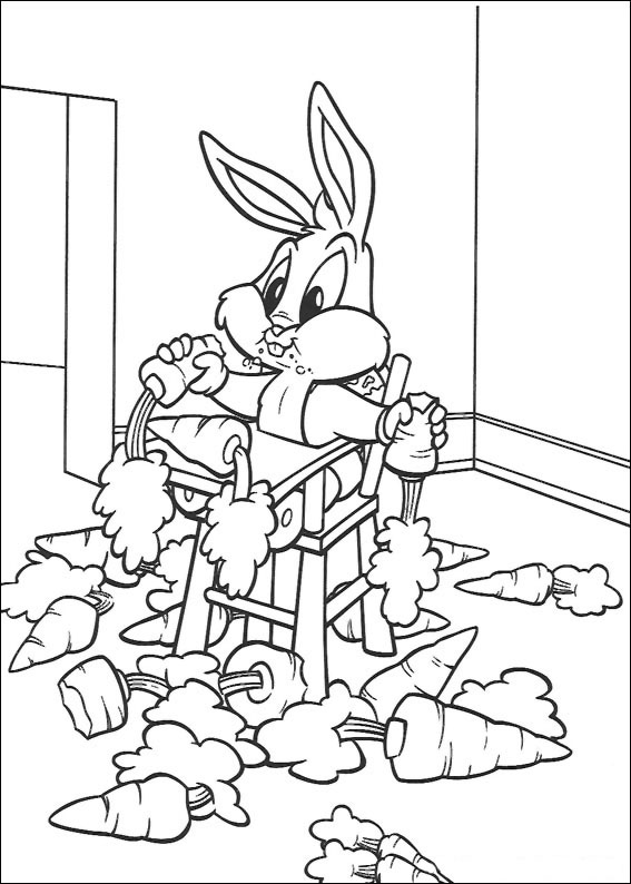 65 disegni dei baby looney tunes da colorare for Baby looney tunes taz coloring pages