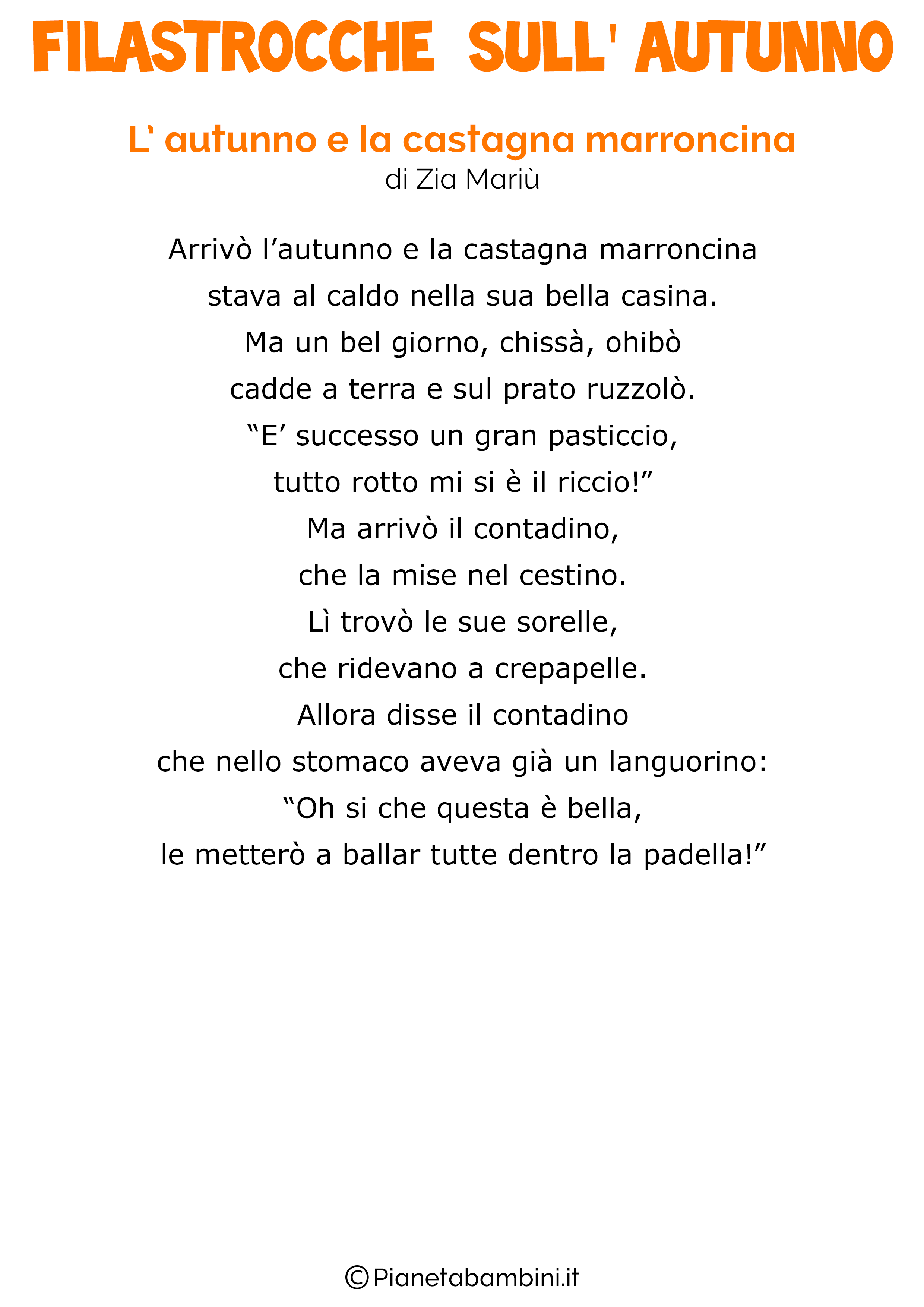 L-Autunno-e-la-Castagna-Marroncina-Zia-Mariu