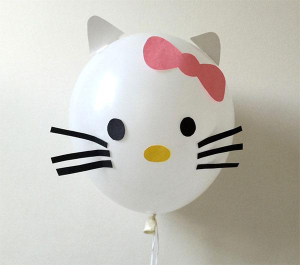 Hello Kitty con palloncino