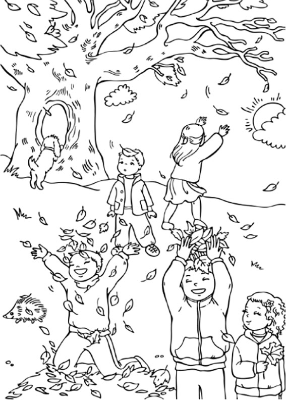 christian fall festival coloring pages - photo#17