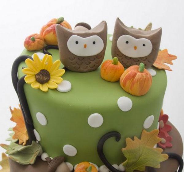 Thanksgiving Cake Decorations
