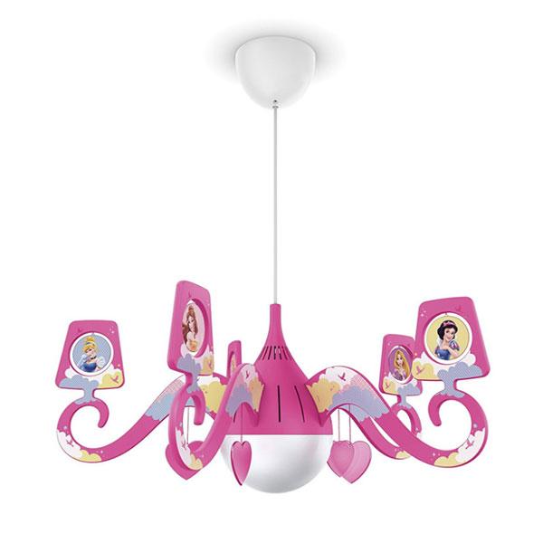 Candelabro delle principesse Disney per la cameretta delle bambine n.1