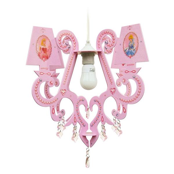 Candelabro delle principesse Disney per la cameretta delle bambine n.2