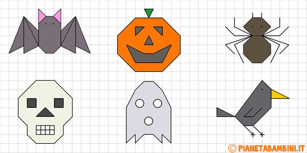 Cornicette di Halloween per bambini da stampare gratis