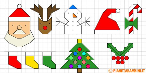 Cornicette di Natale per bambini da stampare gratis