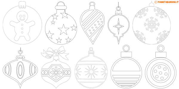Foto Di Natale Da Colorare E Stampare.38 Disegni Di Palline Di Natale Da Stampare E Colorare