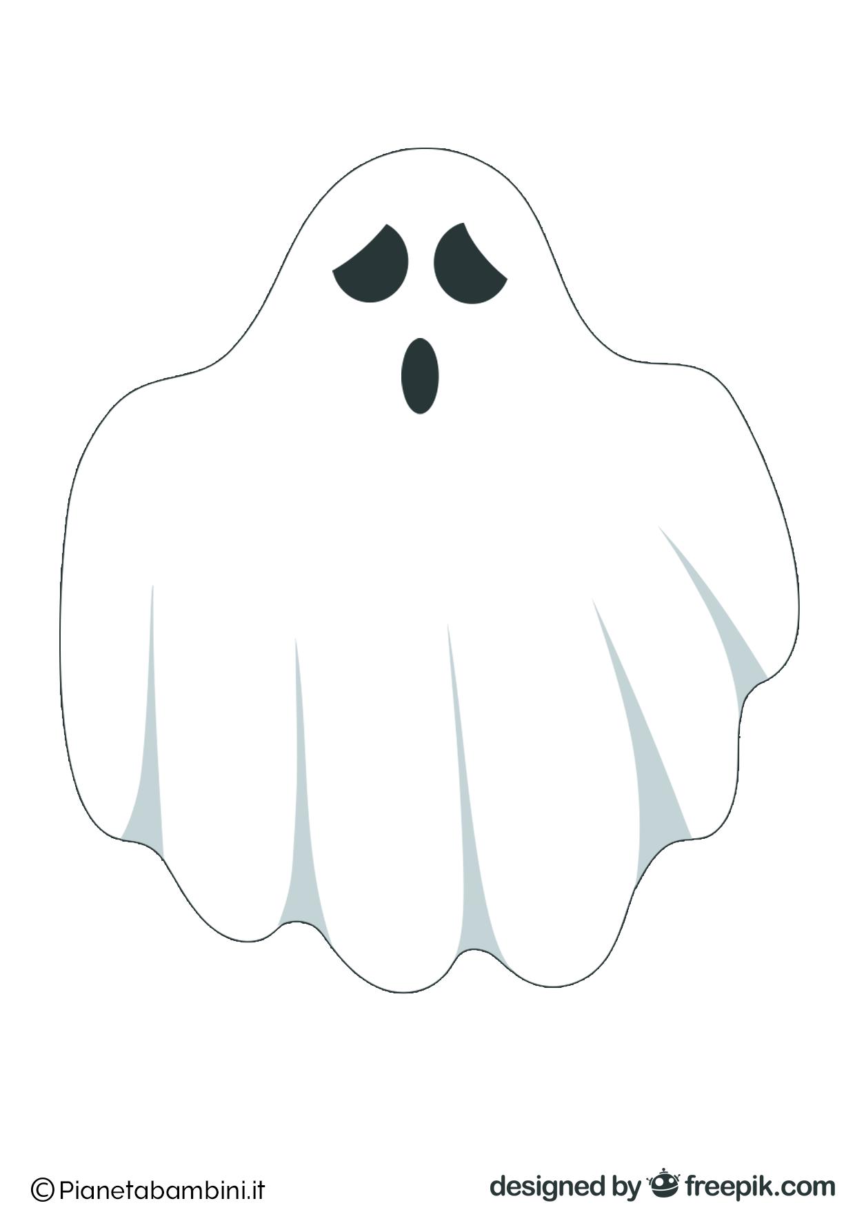 Immagini di fantasmi da stampare e ritagliare