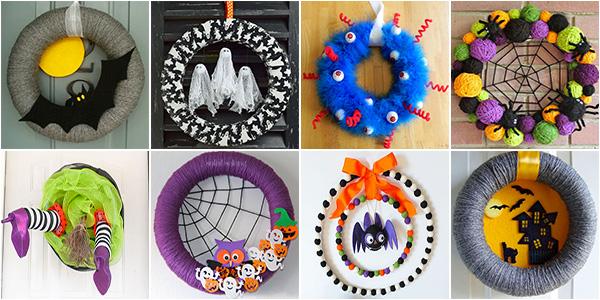 Idee per creare ghirlande di Halloween fai da te per bambini