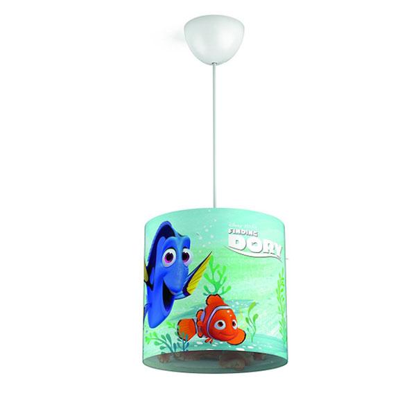 Lampadario a sospensione di Alla Ricerca di Nemo per la cameretta dei bambini