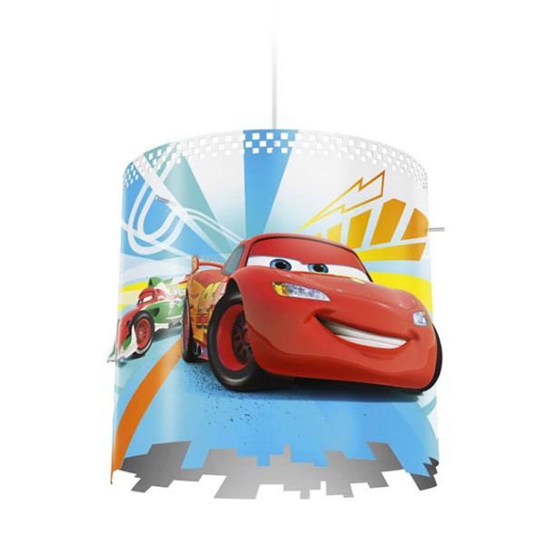 Lampadario a sospensione di Cars per la cameretta dei bambini