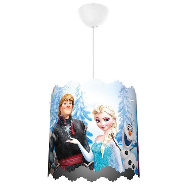 Lampadario a sospensione di Frozen per la cameretta dei bambini