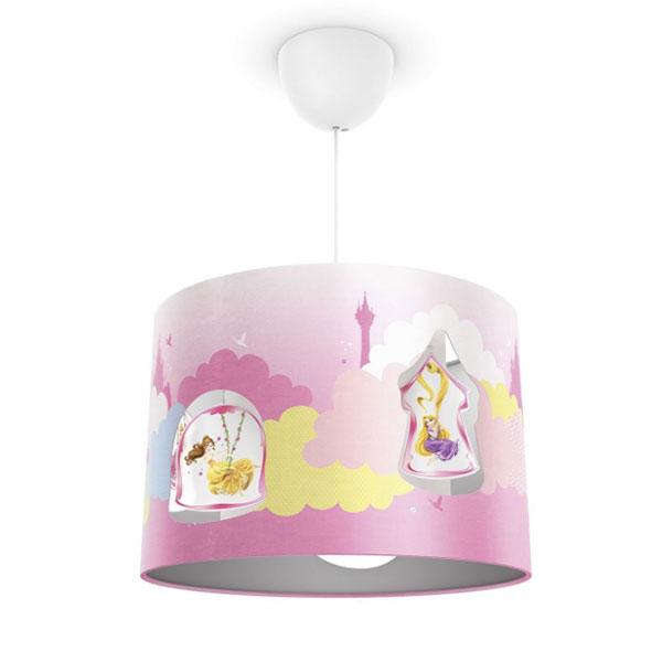 Lampadario a sospensione delle Principesse Disney per la cameretta dei bambini n.01