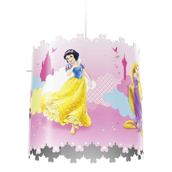 Lampadario a sospensione delle Principesse Disney per la cameretta dei bambini n.02