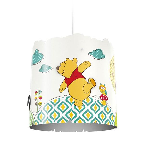 Lampadario a sospensione di Winnie The Pooh per la cameretta dei bambini