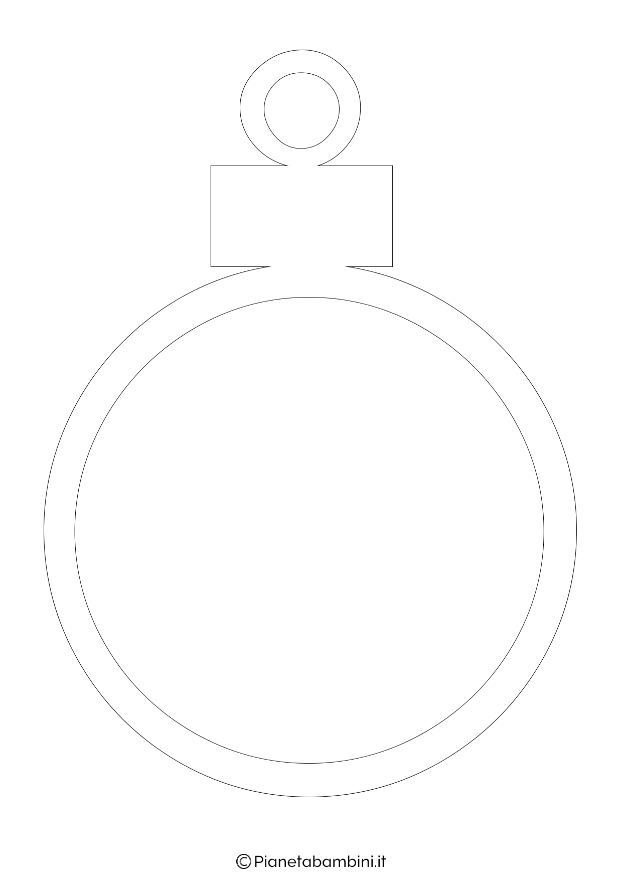 Pallina di Natale da stampare 06