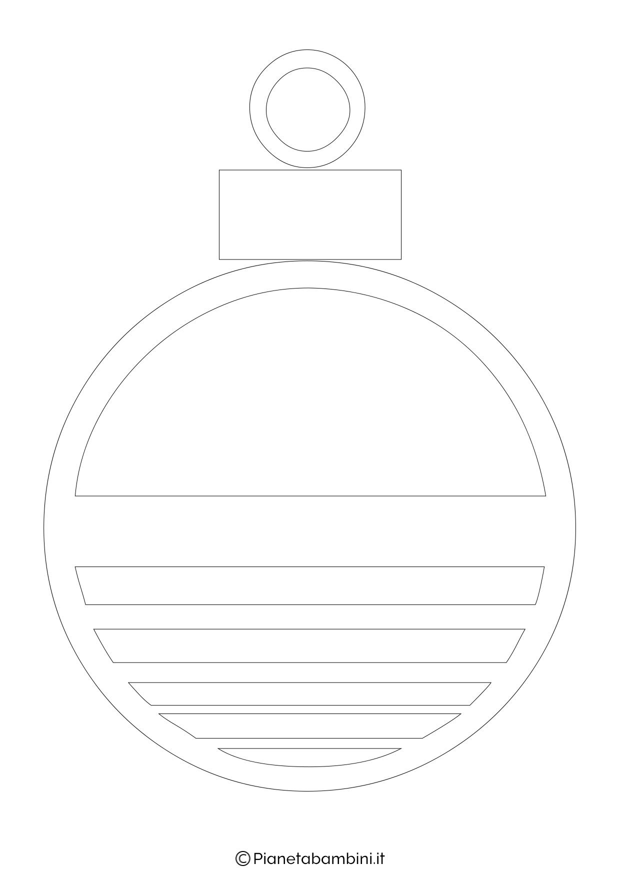 Palline di Natale da stampare 07