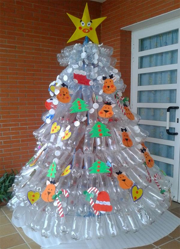 Lavoretti Per Albero Di Natale.10 Lavoretti Di Natale Con Bottiglie Di Plastica