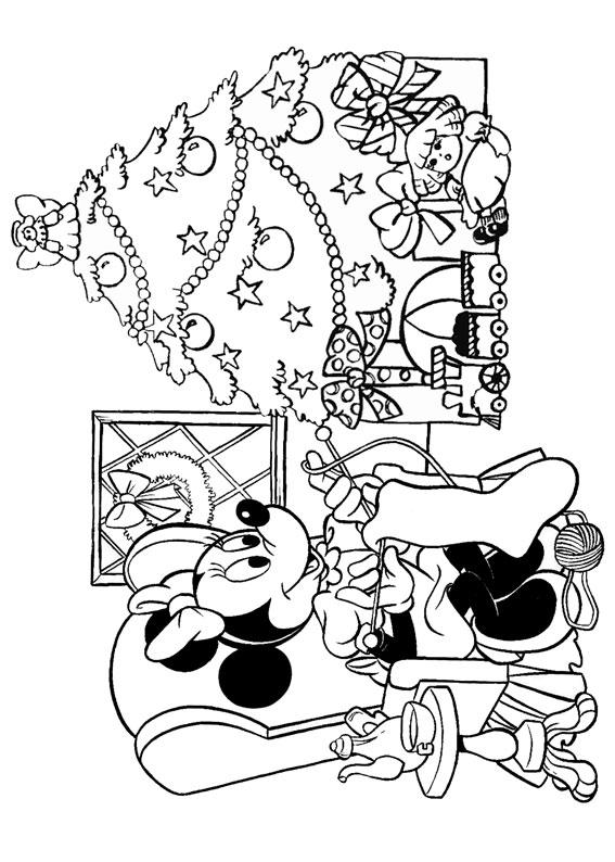 50 Disegni Di Natale Della Disney Da Colorare Pianetabambini It