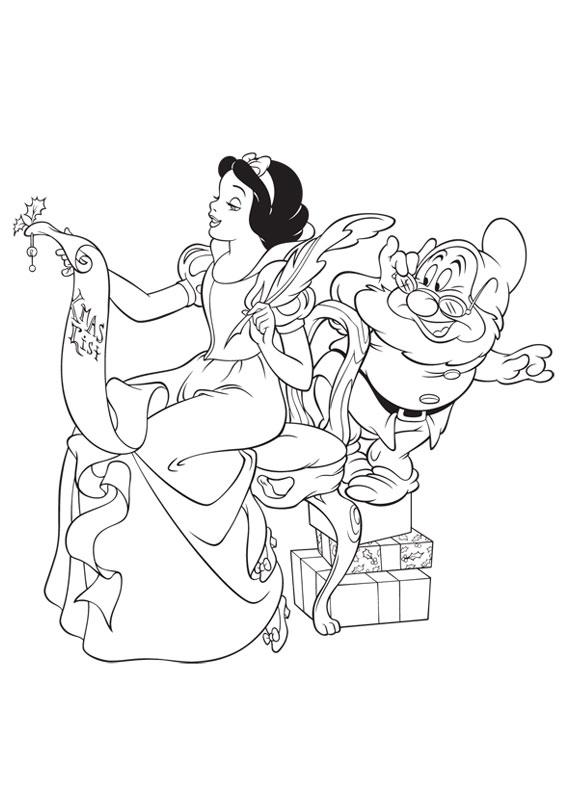 50 disegni di natale della disney da colorare for Disegni della roma da colorare