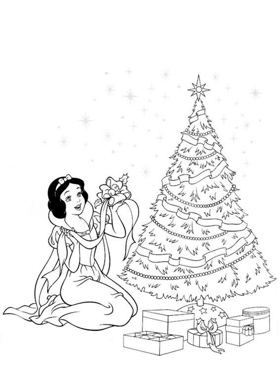 disegni-natale-principesse-disney-03