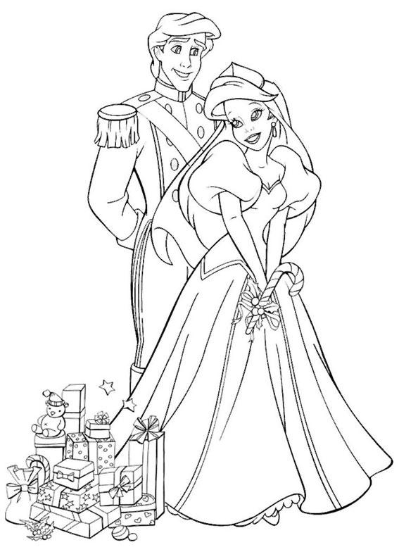 disegni-natale-principesse-disney-08