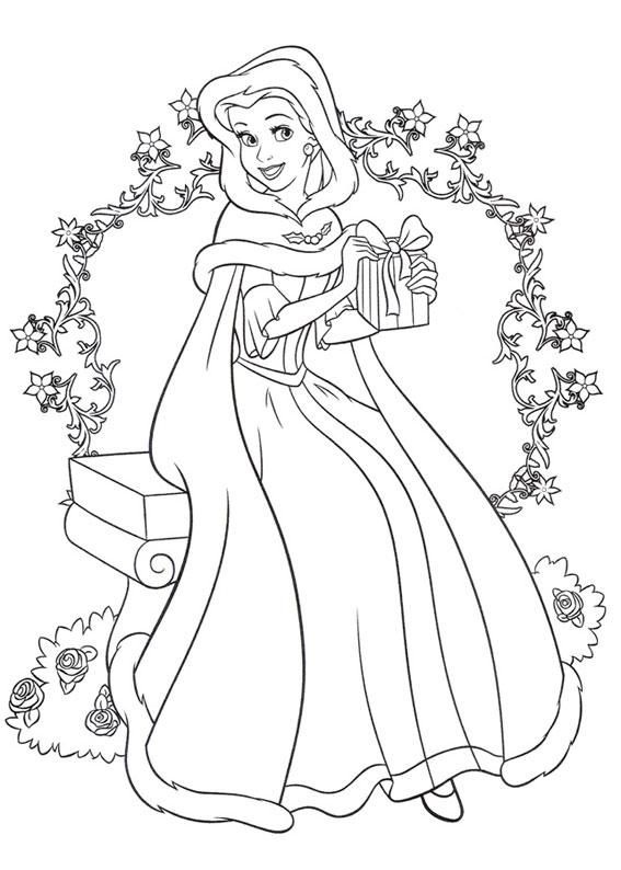 disegni-natale-principesse-disney-10