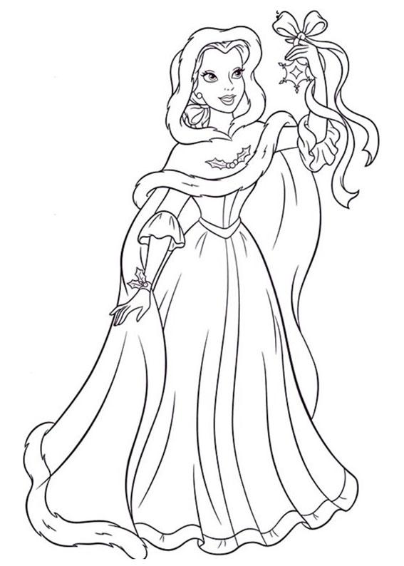 disegni-natale-principesse-disney-11