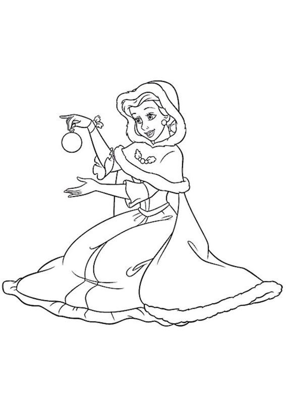 disegni-natale-principesse-disney-12