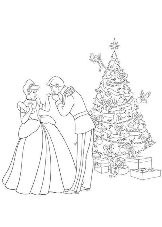 disegni-natale-principesse-disney-13