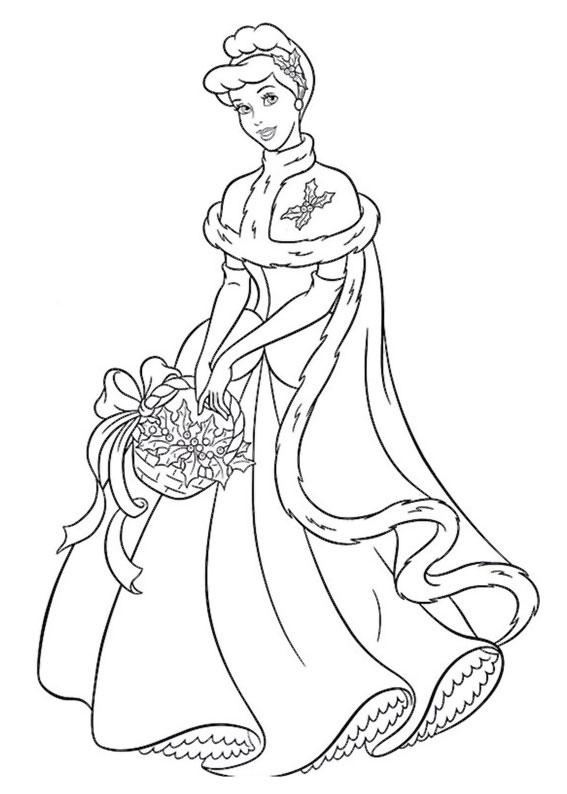 disegni-natale-principesse-disney-14