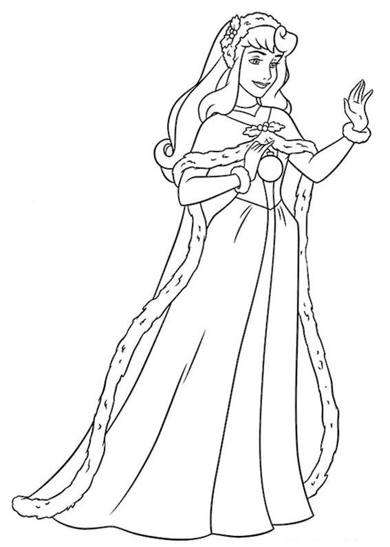 disegni-natale-principesse-disney-15