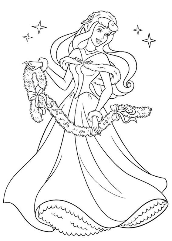 disegni-natale-principesse-disney-16