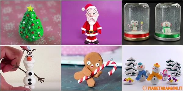 Lavoretti Di Natale Con Pasta Fimo.12 Lavoretti Di Natale Con Il Das Pianetabambini It