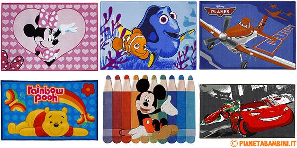 Tappeti Disney per la cameretta dei bambini