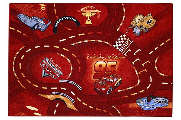Tappeto Disney di Cars per la cameretta dei bambini n.1
