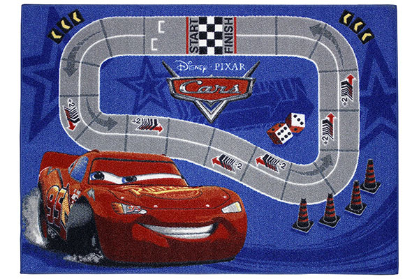 Tappeto Disney di Cars per la cameretta dei bambini n.4