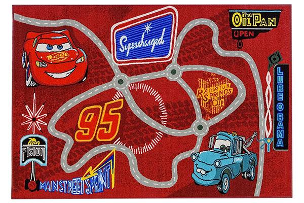 Tappeto Disney di Cars per la cameretta dei bambini n.6
