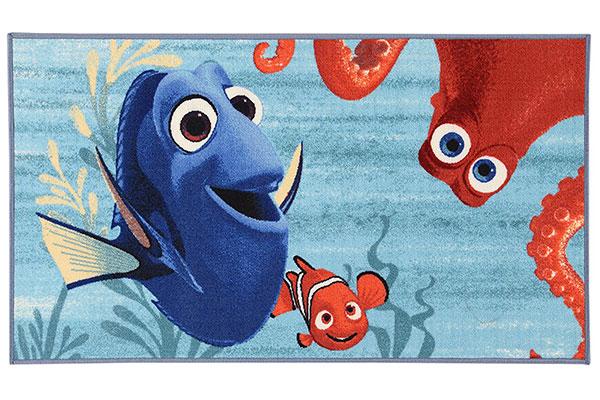 Tappeto Disney di Nemo e Dory per la cameretta dei bambini n.1