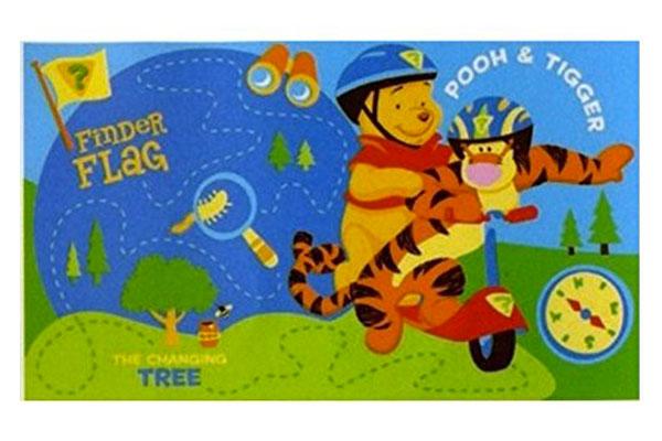 Tappeto Disney di Winnie The Pooh per la cameretta dei bambini n.4