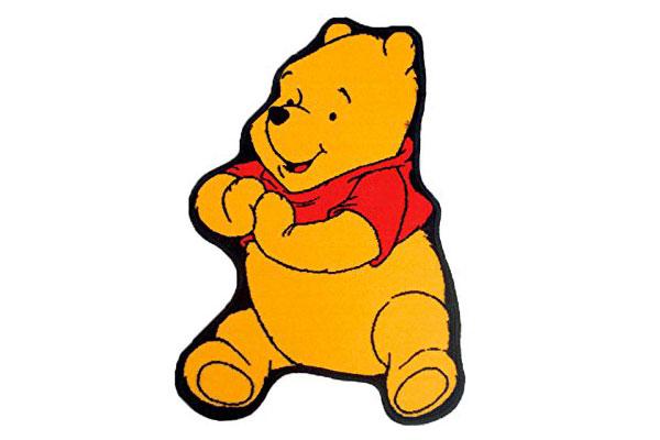 Tappeto Disney di Winnie The Pooh per la cameretta dei bambini n.5