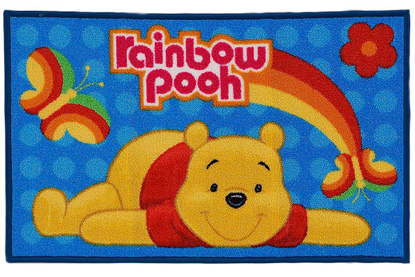 Tappeto Disney di Winnie The Pooh per la cameretta dei bambini n.6