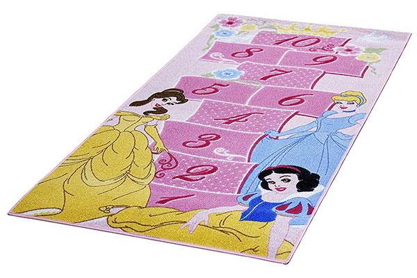 Tappeto delle principesse Disney per la cameretta delle bambine n.1