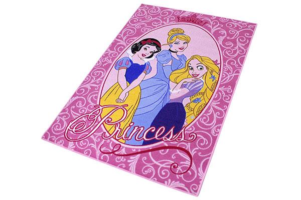 Tappeto delle principesse Disney per la cameretta delle bambine n.2