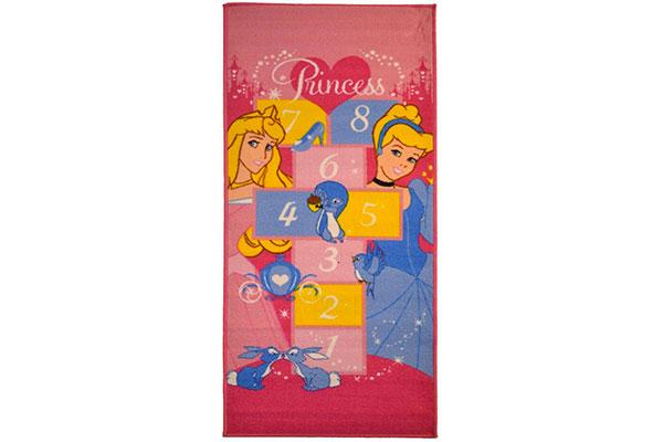 Tappeto delle principesse Disney per la cameretta delle bambine n.4