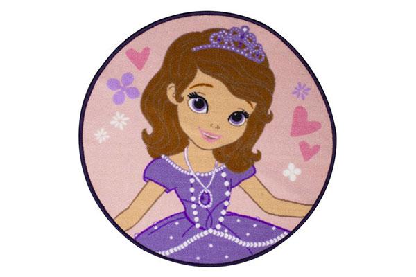 Tappeto delle principesse Disney per la cameretta delle bambine n.5