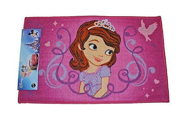 Tappeto delle principesse Disney per la cameretta delle bambine n.6