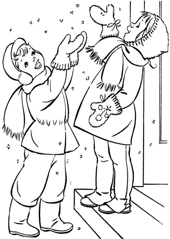 90 Disegni Sull Inverno Da Colorare Per Bambini Pianetabambini It