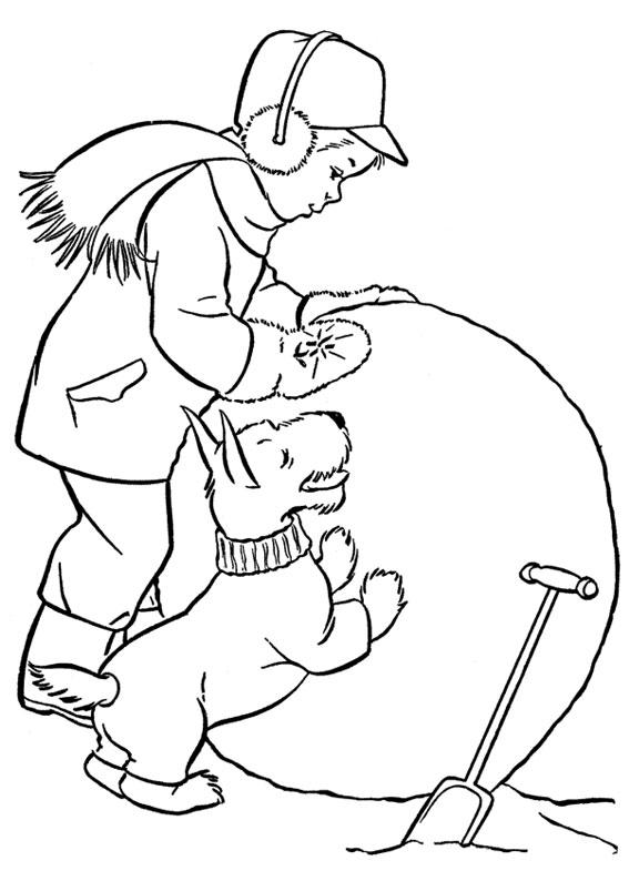 30 disegni sull 39 inverno da colorare per bambini for Disegni sull inverno